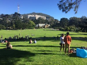 Hippie Hill.